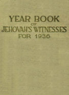 Yearbook of Jehovah's Witnesses for 1936