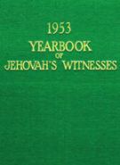 1953 Yearbook of Jehovah's Witnesses