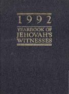 1992 Yearbook of Jehovah's Witnesses