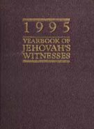 1995 Yearbook of Jehovah's Witnesses