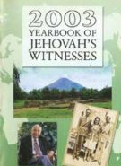 2003 Yearbook of Jehovah's Witnesses