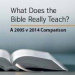 What Does the Bible Really Teach? A 2005 v 2014 Comparison