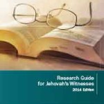 Research Guide for Jehovah's Witnesses 2014 Edition