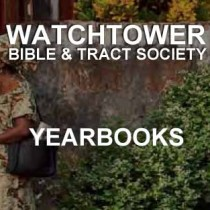 Yearbooks of Jehovah's Witnesses