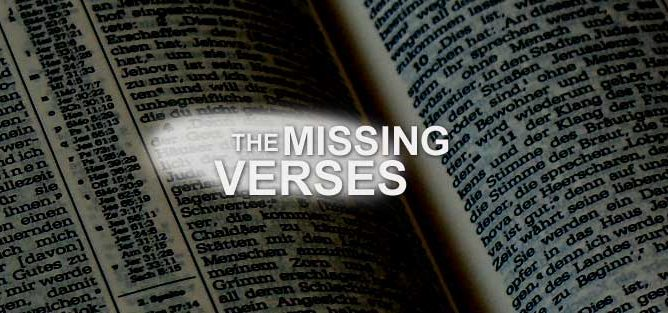 The Missing Verses