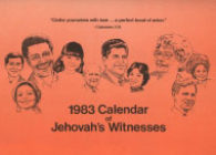 1983 Calendar of Jehovah's Witnesses
