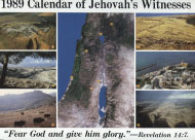 1989 Calendar of Jehovah's Witnesses