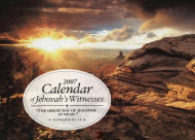 2007 Calendar of Jehovah's Witnesses