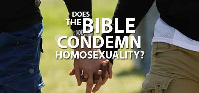 Homosexuality - Does the bible condemn it? image