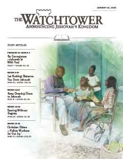The Watchtower 2013 Study January 15 image