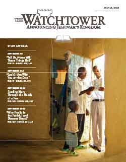 The Watchtower 2013 Study July 15 image