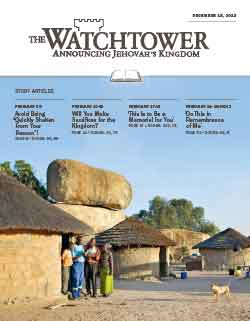 The Watchtower 2013 Study December 15 image