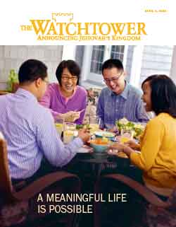 The Watchtower 2013 April 1 image