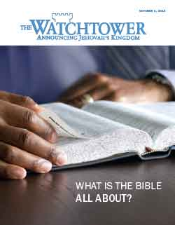 The Watchtower 2013 October 1 image