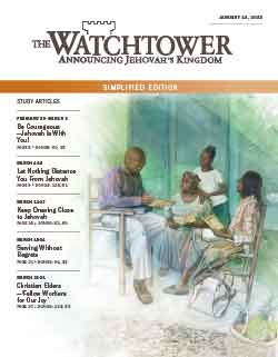 The Watchtower 2013 Simplified January 15 image