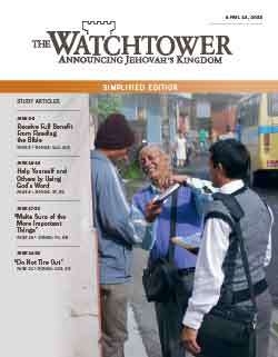 The Watchtower 2013 Simplified April 15 image