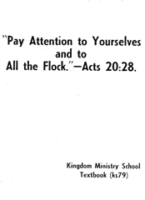ks79-E Pay Attention to Yourselves and to All the Flock (1979)