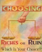 Choosing Riches or Ruin Which Is Your Choice? (1936)
