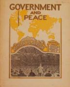 Government And Peace (1939)