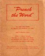 """""""Preach the Word"""" (1953)"""