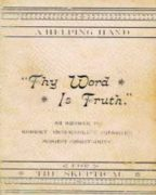 "A Helping Hand ""Thy Word Is Truth"" (1893)"