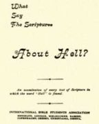 What Say the Scriptures About Hell? (1896)