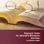 Research Guide for Jehovah's Witnesses (2016)