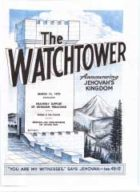The Watchtower March 15 1970