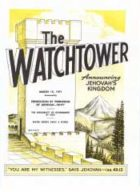 The Watchtower March 15 1971