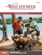 The Watchtower Simplified Edition July 2016