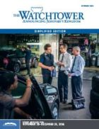 The Watchtower Simplified Edition October 2016