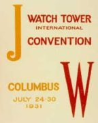 JW Watch Tower International Convention (1931)