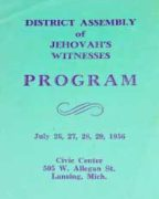 District Assembly of Jehovah's Witnesses (1956)