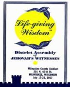 Life-giving Wisdom District Assembly of Jehovah's Witnesses (1957)
