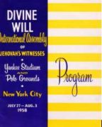 Divine Will International Assembly of Jehovah's Witnesses (1958)