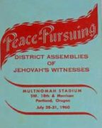 Peace-pursuing District Assembly of Jehovah's Witnesses (1960)