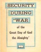 "Security During ""War of the Great Day of God the Almighty"" (1960) Reformatted"