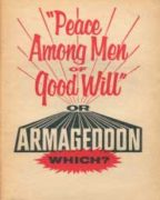 """Peace Among Men of Good Will"" or Armageddon (1964)"