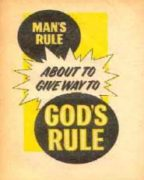 Man's Rule About to Give Way to God's Rule (1968) Reformatted