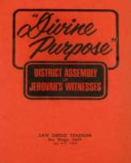 Divine Purpose District Assembly of Jehovah's Witnesses (1974)