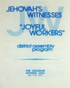 Joyful Workers District Assembly of Jehovah's Witnesses (1977)