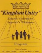Kingdom Unity District Convention of Jehovah's Witnesses (1983)