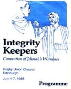 Integrity Keepers Convention of Jehovah's Witnesses (1985)
