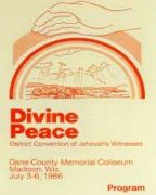 Divine Peace District Convention of Jehovah's Witnesses (1986)