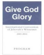 Give God Glory International Convention of Jehovah's Witnesses (2003)