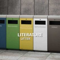 Literature Litter - Martin John Gaugh
