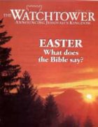 The Watchtower April 01 1996