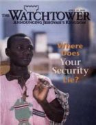 The Watchtower April 15 2002