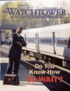 The Watchtower September 01 2000