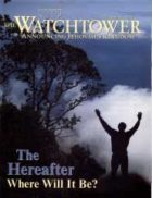The Watchtower October 01 2000
